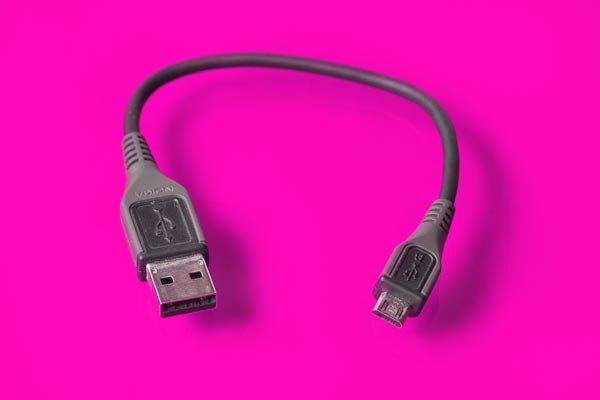 USB cable.